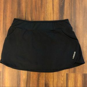 Black Reebok Tennis/Running Skort 🖤